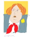 Cartoon: Oscar Wilde (small) by gungor tagged literature