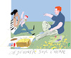 Cartoon: Picnic at the Park (small) by gungor tagged free,time