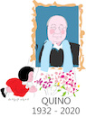 Cartoon: Quino (small) by gungor tagged argentine