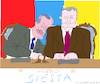 Cartoon: Siesta (small) by gungor tagged turkey