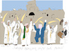 Cartoon: Sword Dancing for Peace (small) by gungor tagged middle,east