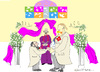 Cartoon: TYing the Knot (small) by gungor tagged usa