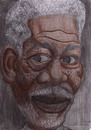 Cartoon: Freeman (small) by Tomek tagged morgan,freeman