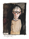 Cartoon: Woody Allen (small) by Peter Bauer tagged woody allen jammertal peter bauer