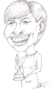Cartoon: Anna hathaway (small) by astrocaricaturas tagged anna,hathaway