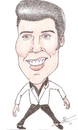 Cartoon: Elvis presley (small) by astrocaricaturas tagged elvis,presley