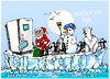 Cartoon: Ano Nuevo (small) by Dragan tagged ano,nuevo,2014,calendario,gregoriano,fijesta,cartoon
