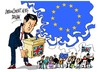Cartoon: Gran Bretana- Union Europea (small) by Dragan tagged gran,bretana,inglatera,elecciones,union,europea,ue,politics,cartoon
