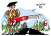 Cartoon: Suiza-trabas (small) by Dragan tagged suiza,trabas,libre,circulacion,trabajo,politics,cartoon
