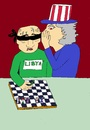Cartoon: Game (small) by kaleci tagged cypriot