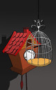 Cartoon: Alcatraz... (small) by berk-olgun tagged alcatraz