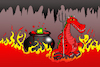 Cartoon: Alligator Hell... (small) by berk-olgun tagged alligator,hell
