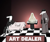 Cartoon: Art Dealer... (small) by berk-olgun tagged art,dealer