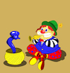 Cartoon: Balloon Snake... (small) by berk-olgun tagged balloon,snake