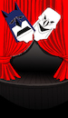 Cartoon: Batman Theatre... (small) by berk-olgun tagged batman,theatre