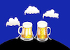 Cartoon: Beer Clouds... (small) by berk-olgun tagged beer,clouds