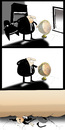 Cartoon: BLACK HUMOUR... (small) by berk-olgun tagged black,humour
