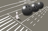 Cartoon: Bowling Man... (small) by berk-olgun tagged bowling,man