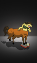 Cartoon: Centaur Woman... (small) by berk-olgun tagged centaur,woman