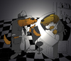 Cartoon: Detective... (small) by berk-olgun tagged detective