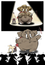 Cartoon: Elephant... (small) by berk-olgun tagged elephant