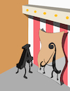 Cartoon: Fun Mirror... (small) by berk-olgun tagged fun,mirror