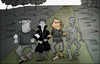Cartoon: Going to the Wizard of Oz.. (small) by berk-olgun tagged wizard,of,oz