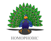 Cartoon: Homophobia... (small) by berk-olgun tagged homophobia