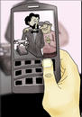 Cartoon: Invention of Telephone.. (small) by berk-olgun tagged invention of telephone