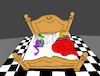 Cartoon: King and Jester... (small) by berk-olgun tagged king,and,jester