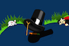 Cartoon: Magician Hat... (small) by berk-olgun tagged magician,hat