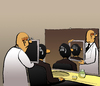 Cartoon: Magritte at Barber... (small) by berk-olgun tagged magritte,at,barber