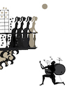 Cartoon: One Man Band... (small) by berk-olgun tagged one,man,band