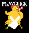 Cartoon: Playchick... (small) by berk-olgun tagged playchick