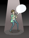 Cartoon: Power of the Words.. (small) by berk-olgun tagged power
