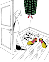 Cartoon: Regret of a Trickster... (small) by berk-olgun tagged regret,of,trickster