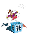 Cartoon: Scarecrow Joke... (small) by berk-olgun tagged scarecrow,joke