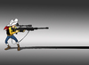 Cartoon: Shadow Sniper... (small) by berk-olgun tagged shadow,sniper