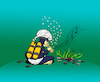Cartoon: Snake Fish... (small) by berk-olgun tagged snake,fish