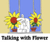 Cartoon: Talking with Flower... (small) by berk-olgun tagged talking,with,flower