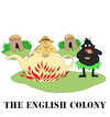 Cartoon: The English Colony... (small) by berk-olgun tagged the,english,colony