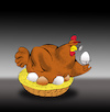 Cartoon: The Golden Egg... (small) by berk-olgun tagged the,golden,egg