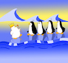 Cartoon: The King Penguin is Naked... (small) by berk-olgun tagged the,king,penguin,is,naked