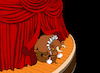 Cartoon: Theatre Bull... (small) by berk-olgun tagged theatre,bull