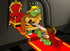 Cartoon: Turtle Knight... (small) by berk-olgun tagged turtle,knight
