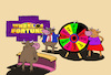 Cartoon: Wheel of Fortune... (small) by berk-olgun tagged wheel,of,fortune