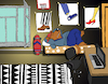 Cartoon: Young Room... (small) by berk-olgun tagged young,room