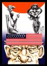 Cartoon: american dream 1 (small) by Marian Avramescu tagged mav