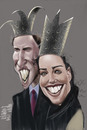 Cartoon: Royal (small) by Marian Avramescu tagged mmmmmmmmmm
