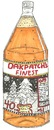 Cartoon: OakPatches Finest Malt Liquor (small) by m-crackaz tagged bum,beer,hobo,malt,liquor,drink,booze,drunk,alcohol